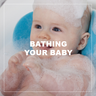 Bathing your baby