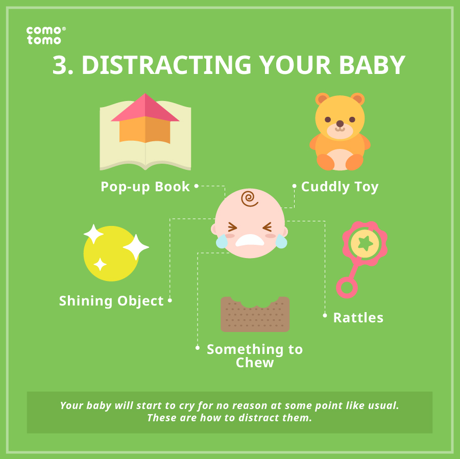 distracting your baby