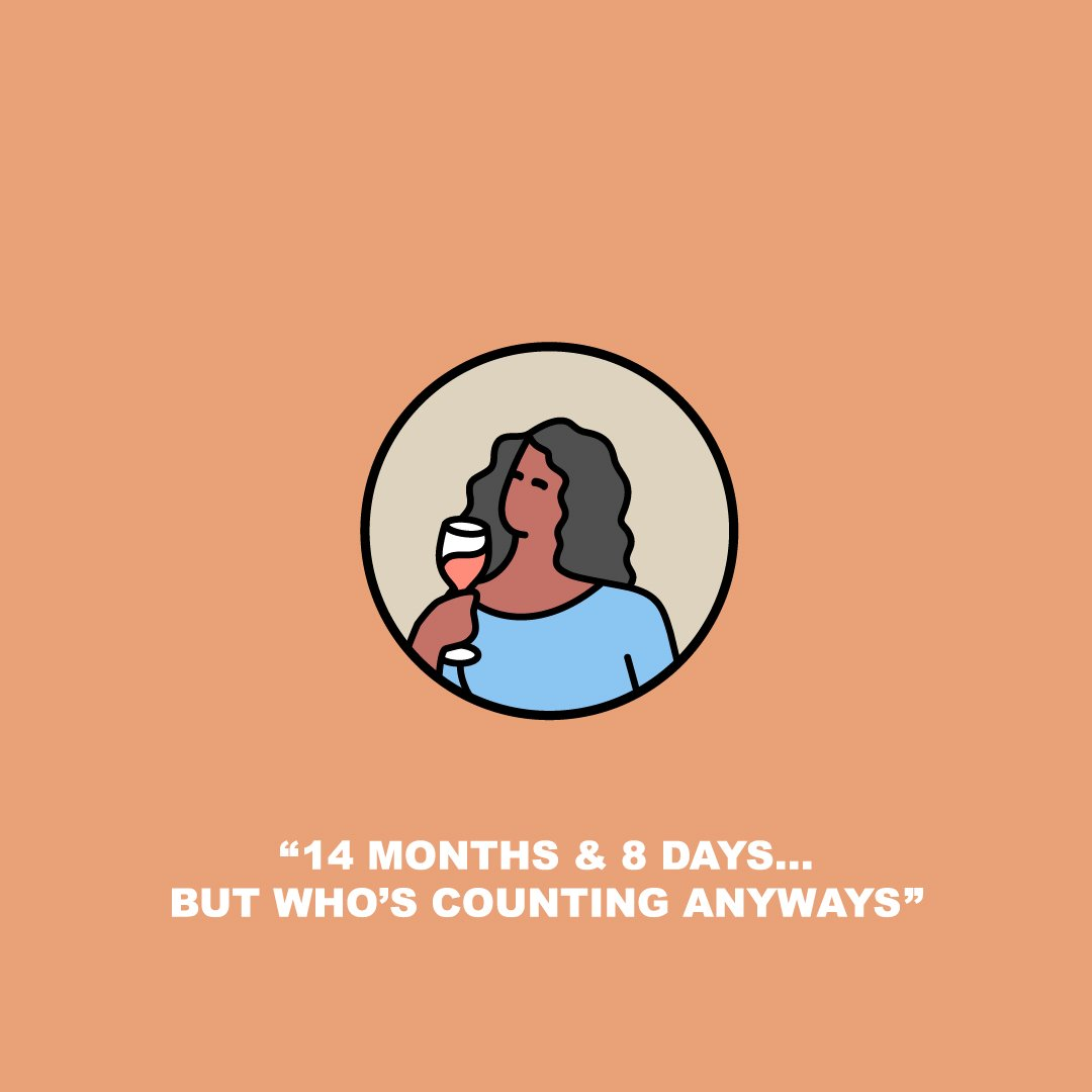 14 months & 8 days but who's counting anyways