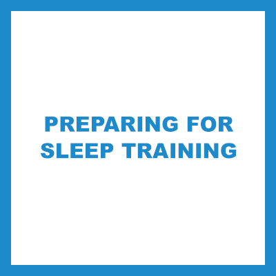 preparing for sleep training