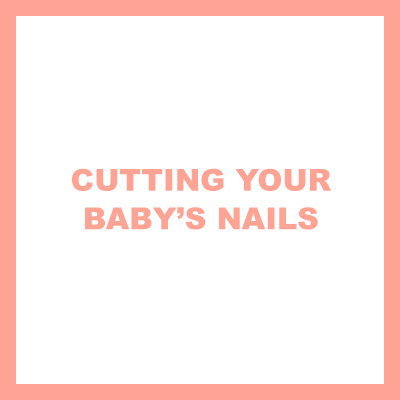 cutting your baby's nails